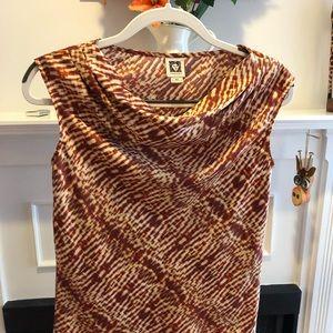 Anne Klein dress blouse